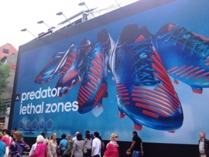 Adidas Billboard in Munich - what do you think?