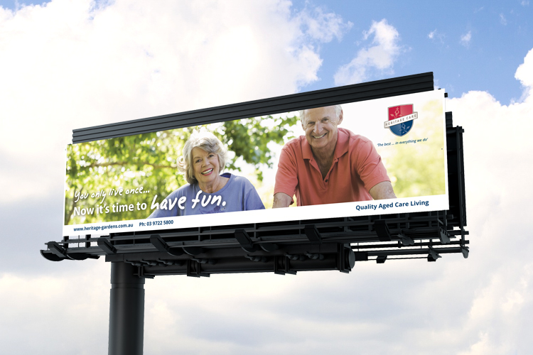 heritage billboard