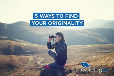 5 ways to find your originality