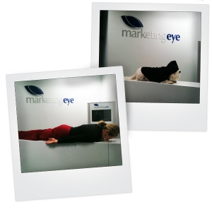 Planking... who would have thought? CEO does it again.