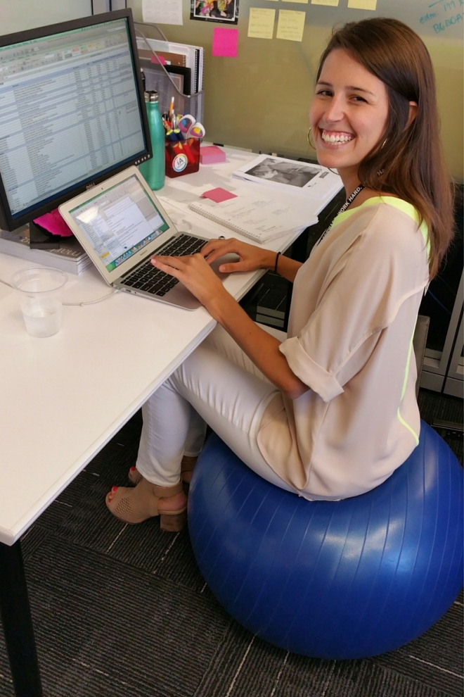 Exercise Balls In The Workplace