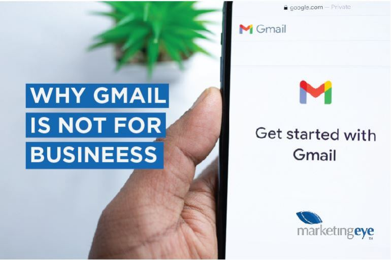 Why GMAIL is not for business
